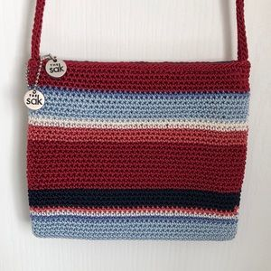 The Sak Crocheted Mini Crossbody Bag
